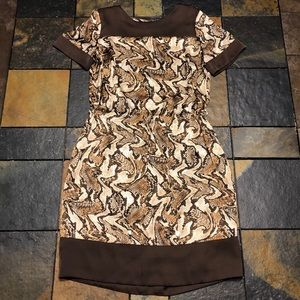 Pretty! Michael Kors Snakeskin Print Dress size S